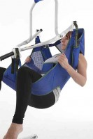 Cradle Sling Toileting w head support